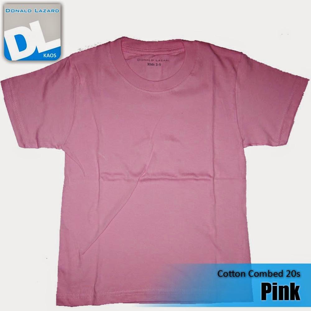 Sablon Warna Kaos Pink