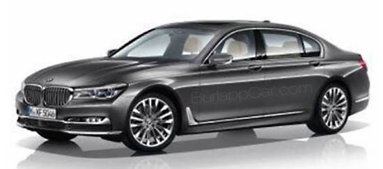 bmw 7 7series new 2016 allnew spy model car
