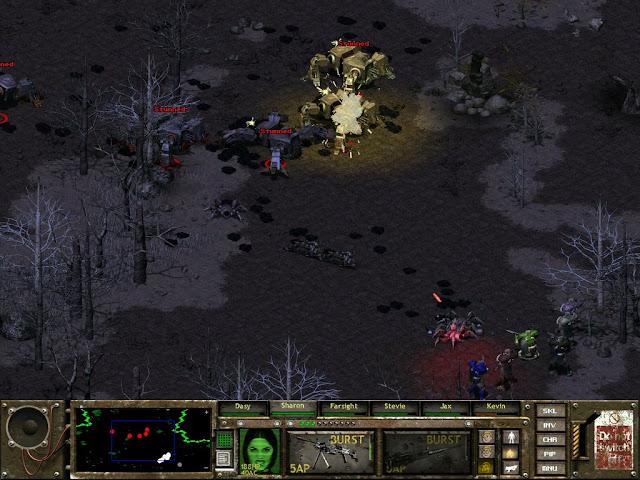 Fallout Tactics 3 : Brotherhood of Steel - Robots Battle Description