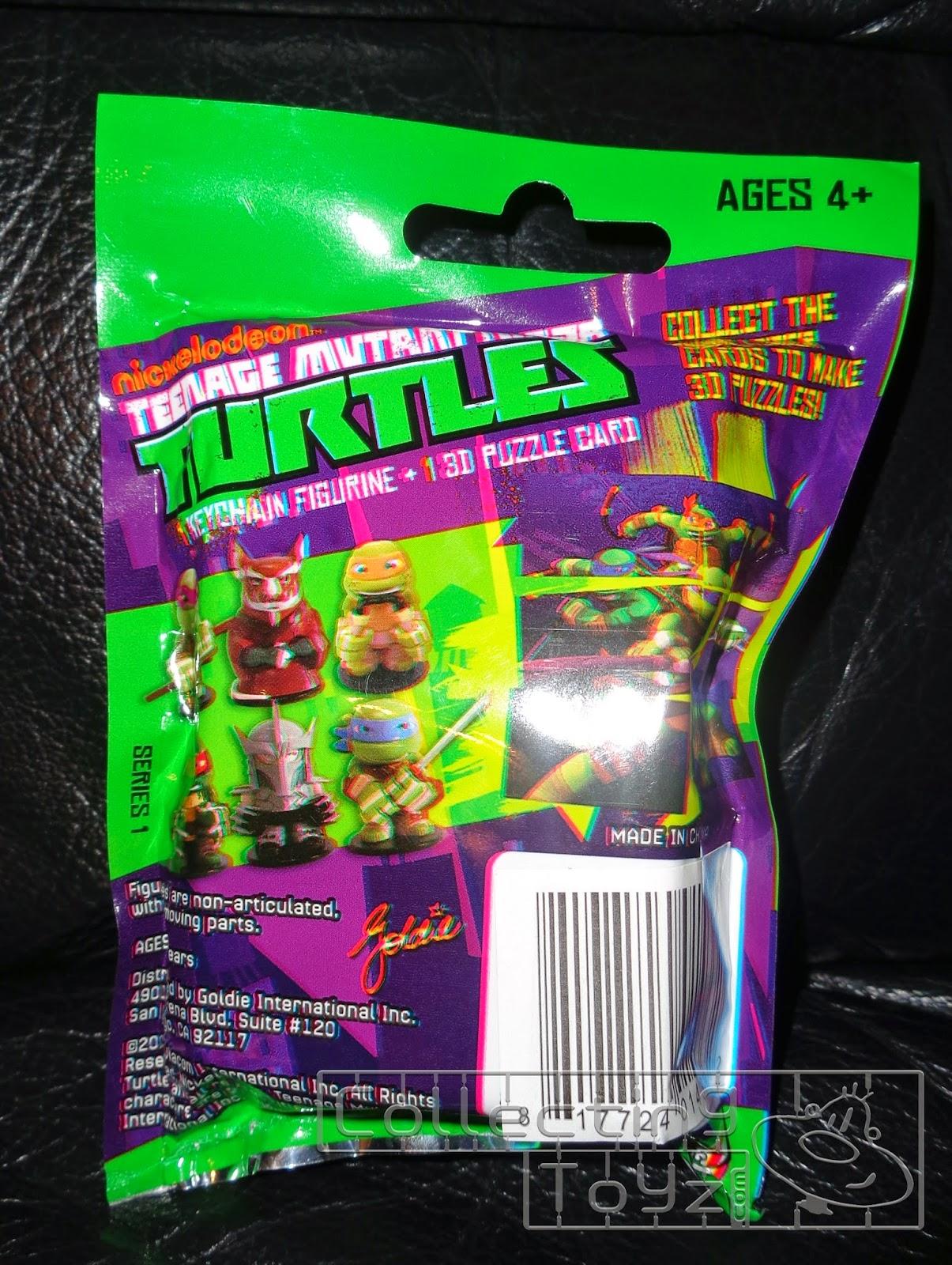 collecting toyz teenage mutant ninja turtles keychain figurine