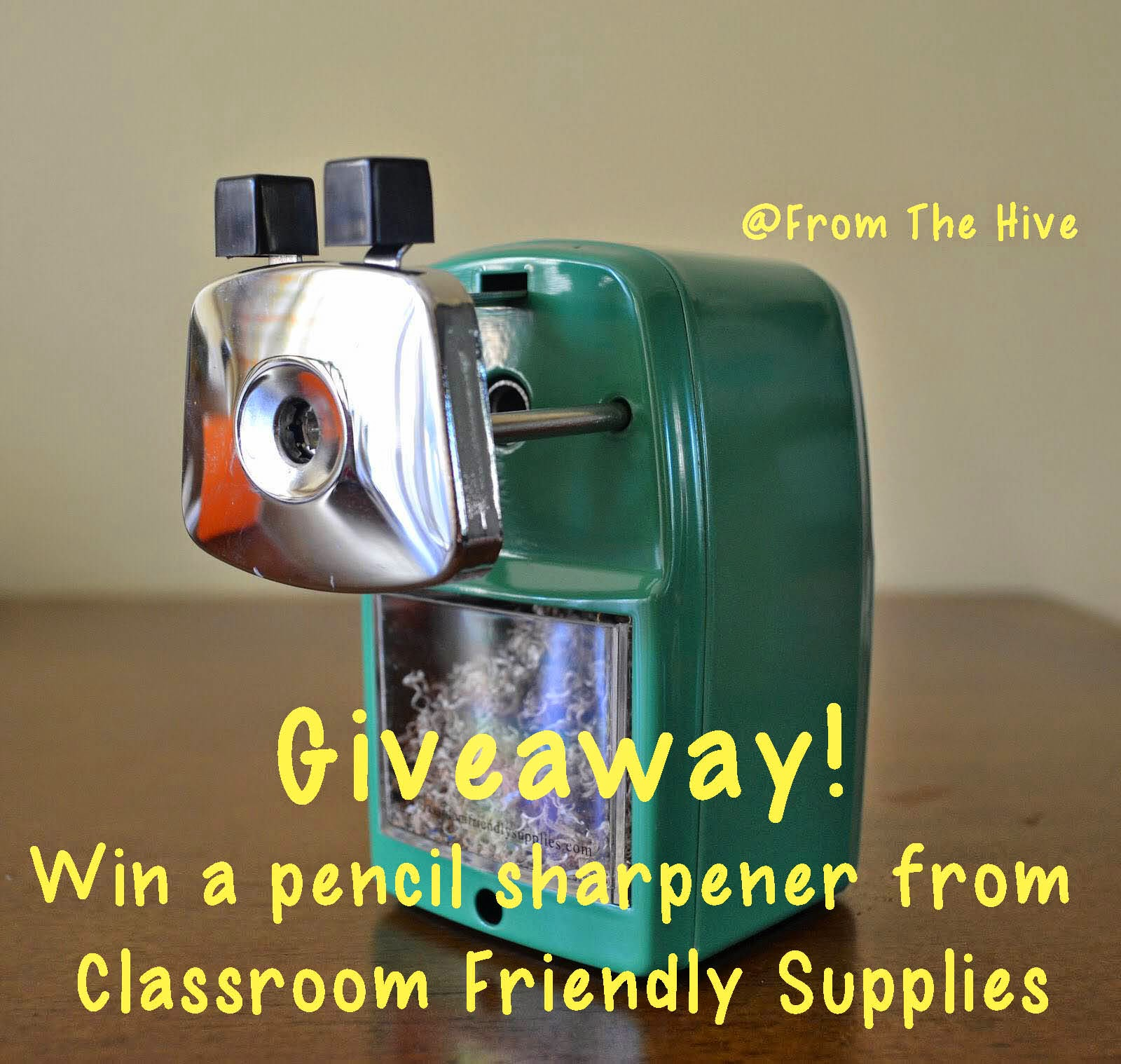 Pencil Sharpener Giveaway!