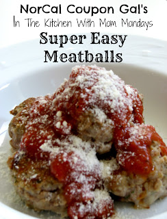 In The Kitchen With Mom Mondays: Super easy meatballs