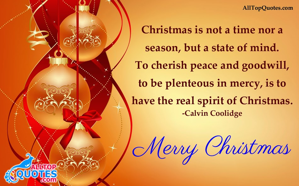 Nice Christmas Quotes in English Language - All Top Quotes | Telugu ...
