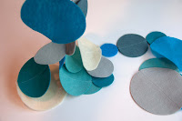 Tutorial: Polka Dot Felt Garland