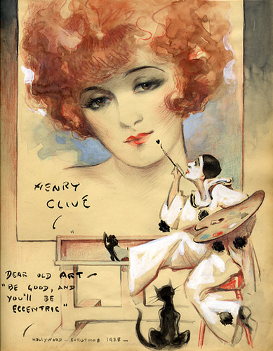 henry clive illustration