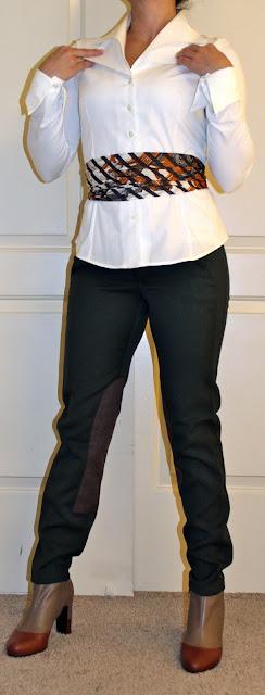 Hermes 90cm scarf as belt