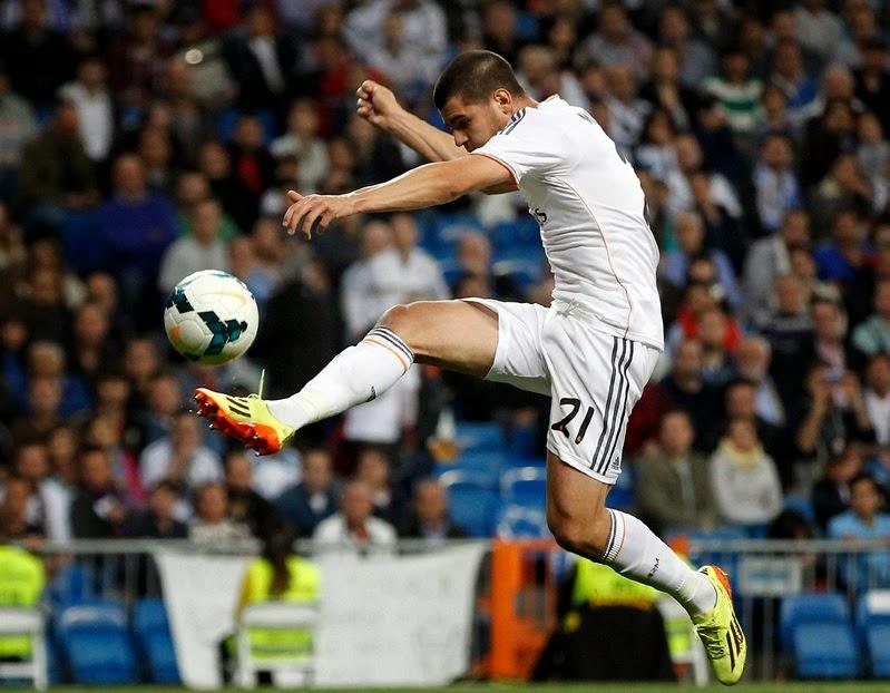 Real Madrid Cantera Morata Gol Almería Liga