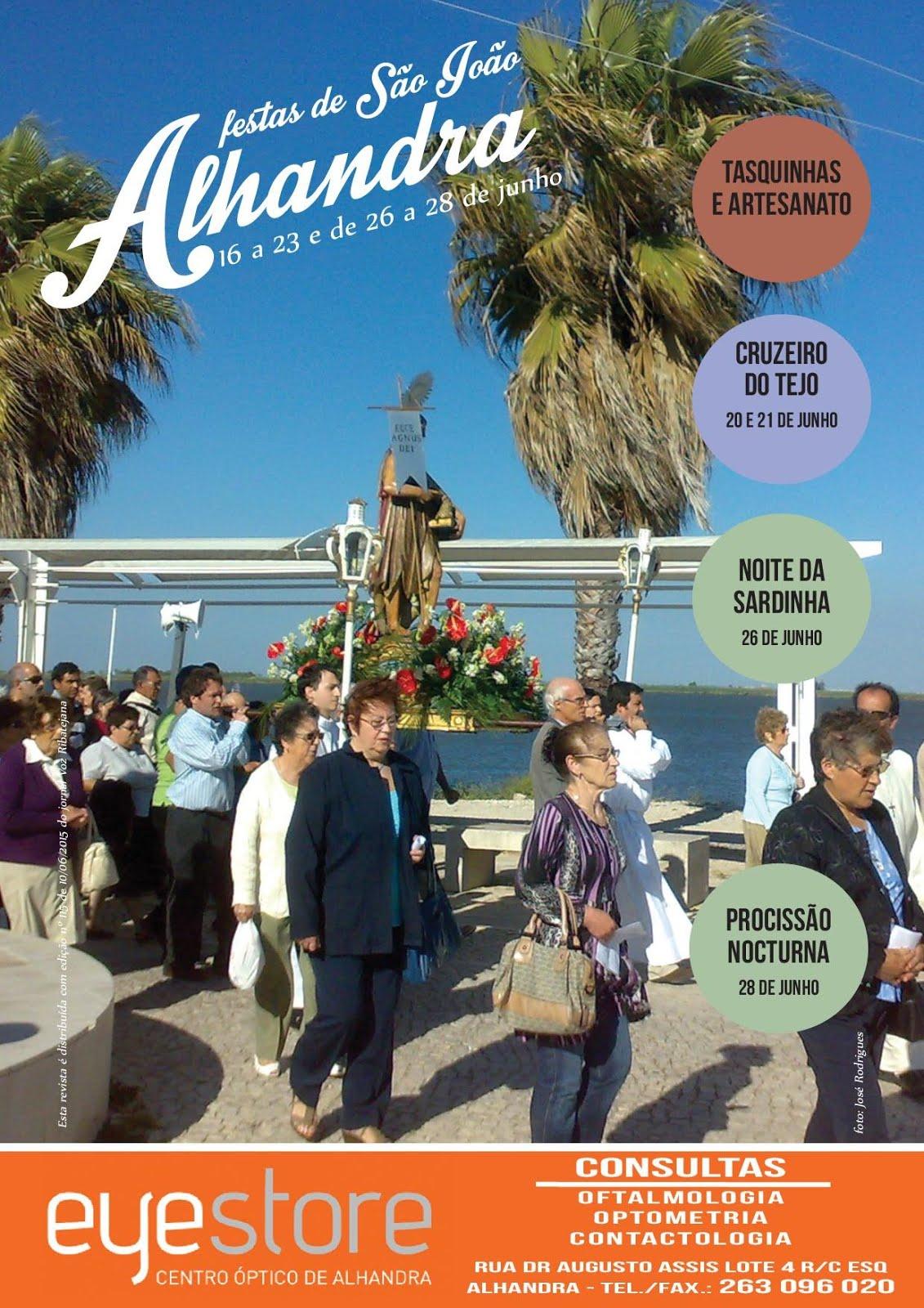 Festas do São João em Alhandra