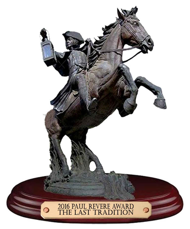 2016 Paul Revere Award Winner