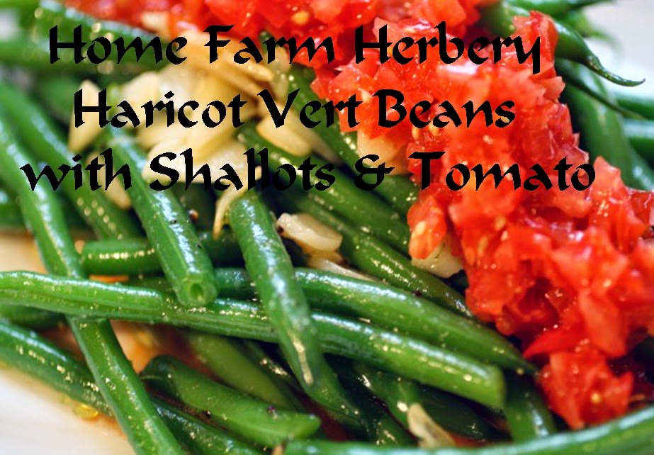 Haricot Vert Beans Haricot Vert With Shallots