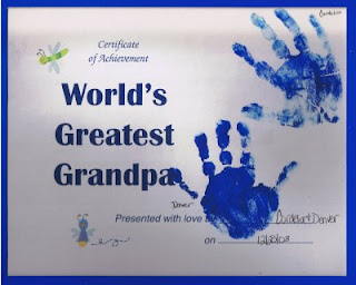 World's Greatest Grandpa Certificate