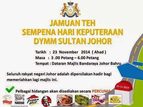 Hari Keputeraan DYMM Sultan Johor 2014