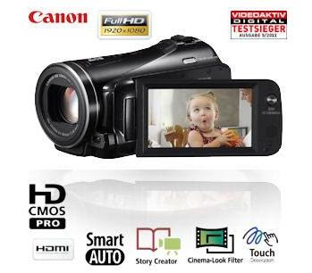 Full-HD-Camcorder Canon LEGRIA HF M46 für 345,90 Euro bei iBood