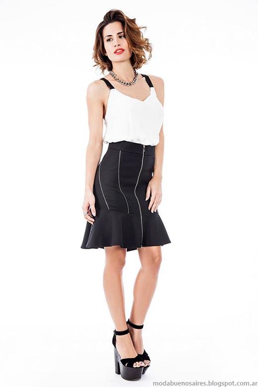 Moda primavera verano 2015 faldas de moda Activity.