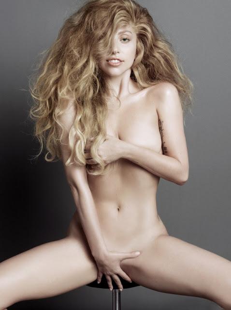 Lady Gaga se desnuda
