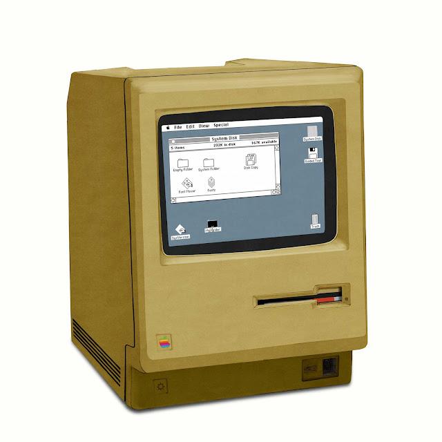 Macintosh 128K, interfaz grafica, dibujo