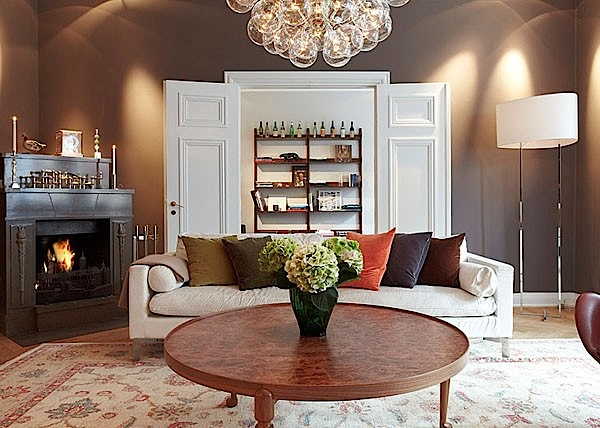 Inspiring home interior design with modern classic style for Modern classic home interior design