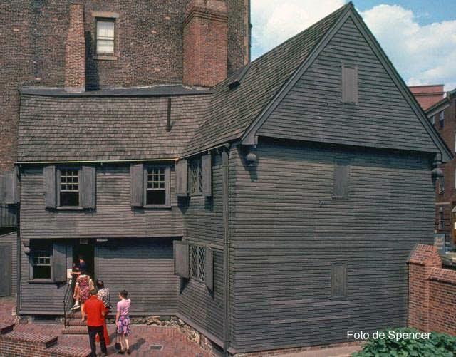 Casa colonial norteamericana histórica