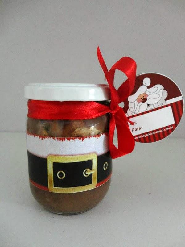 Brigadeiro Caseiro: Chocotone no Pote
