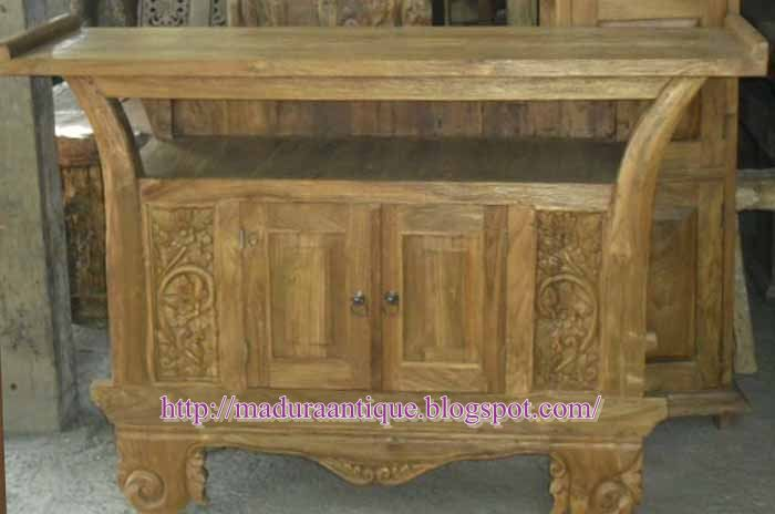 carved  Trunk  teak wood