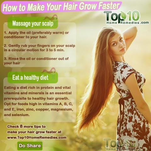 Cara Membuat Rambut Anda Tumbuh Cepat