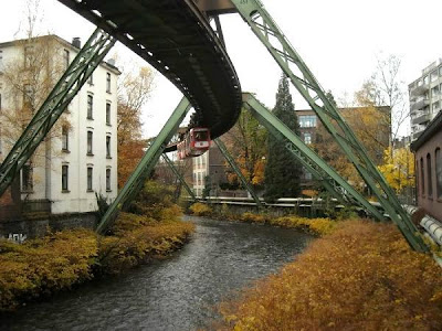 Hanging Trains Of Germany