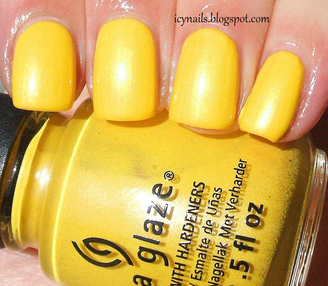 China Glaze Sunshine Pop: Swatch and Review - Notes from My Dressing ...