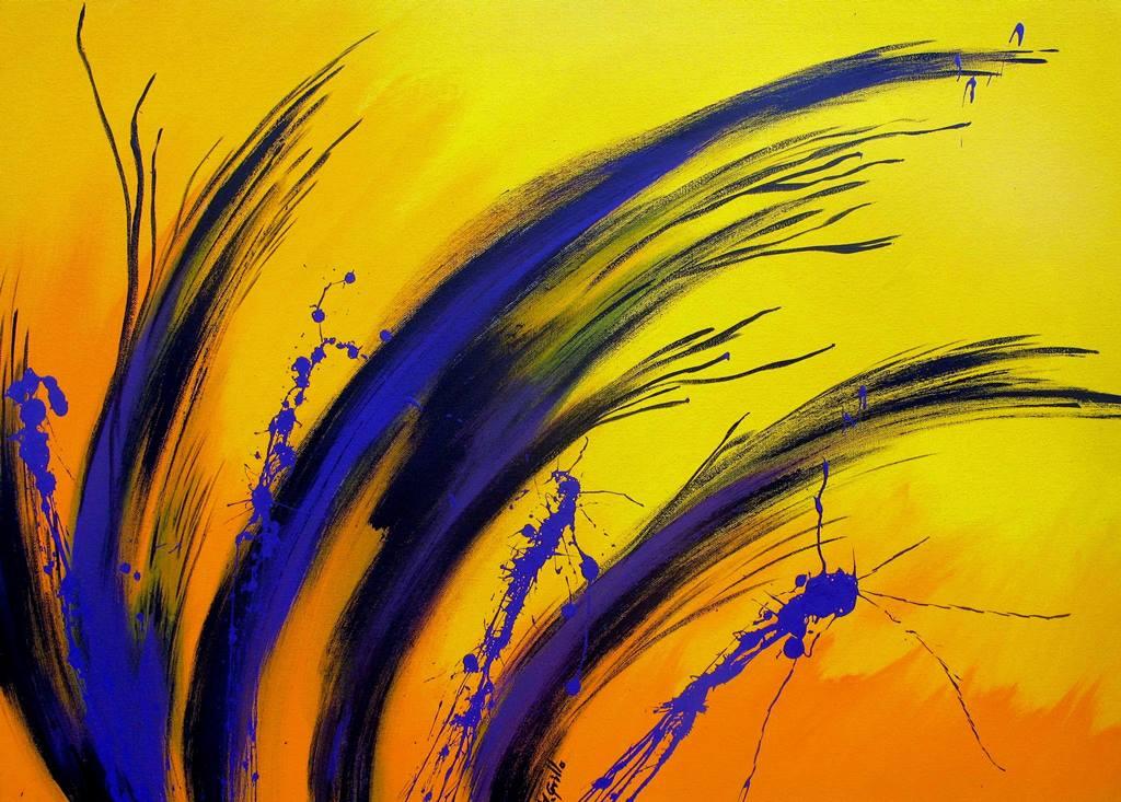 Cuadros modernos pinturas y dibujos cuadros abstractos for Fotos de cuadros abstractos al oleo