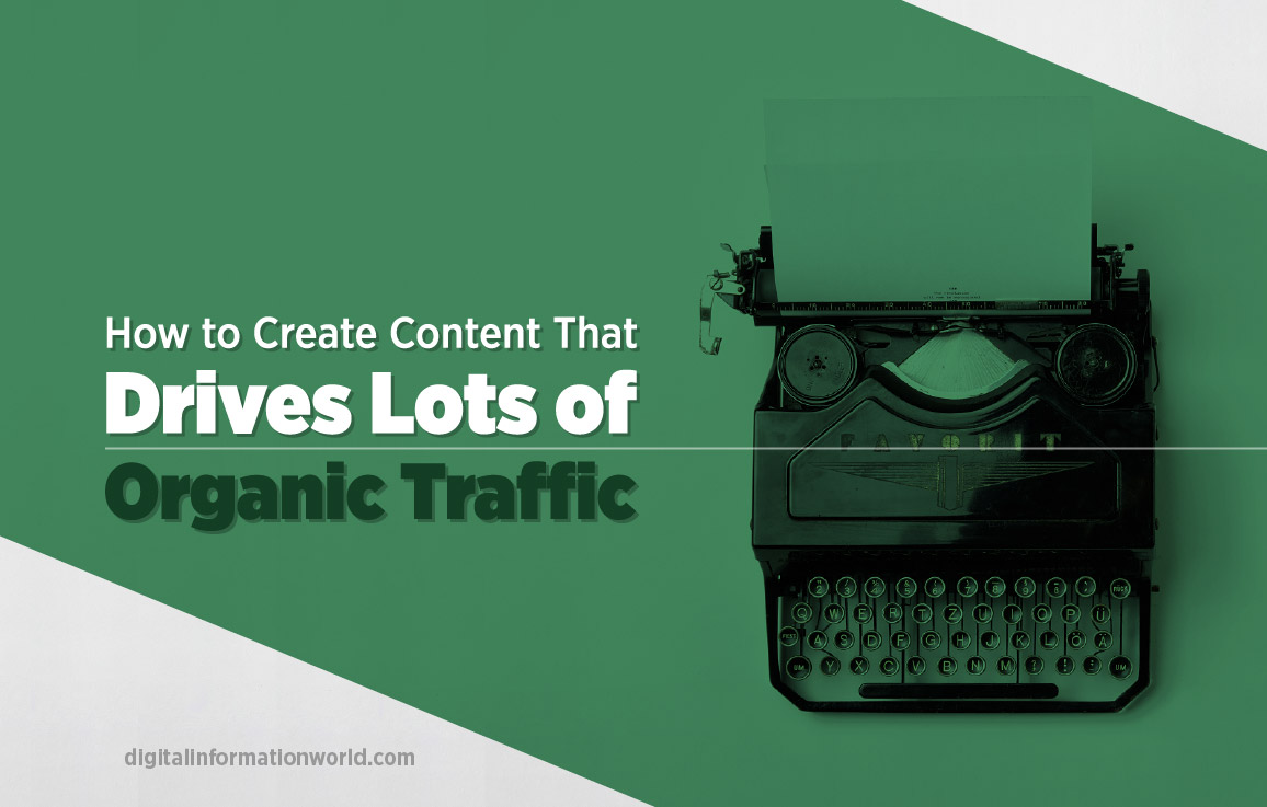 How To Grow Your Google Search Traffic With Content Marketing - #infographic