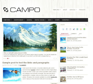 WordPress-Template Campo