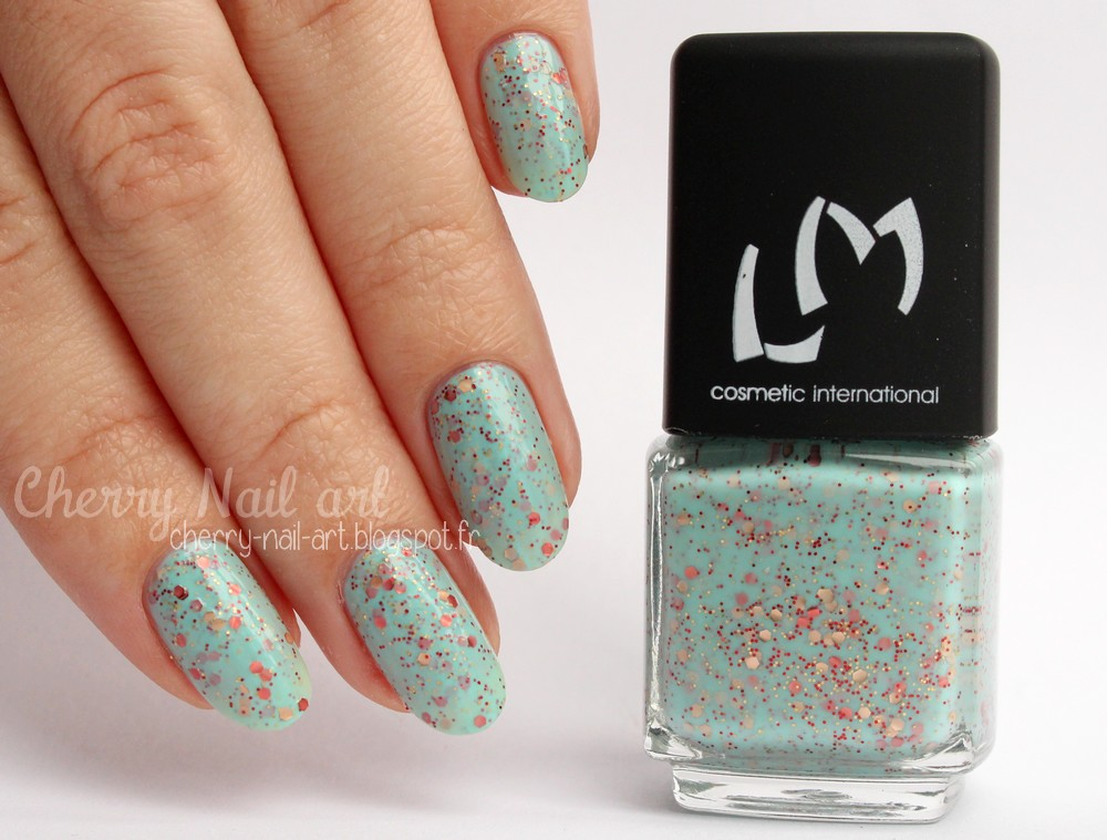 vernis lm cosmetic n°266 Diva collection guest star