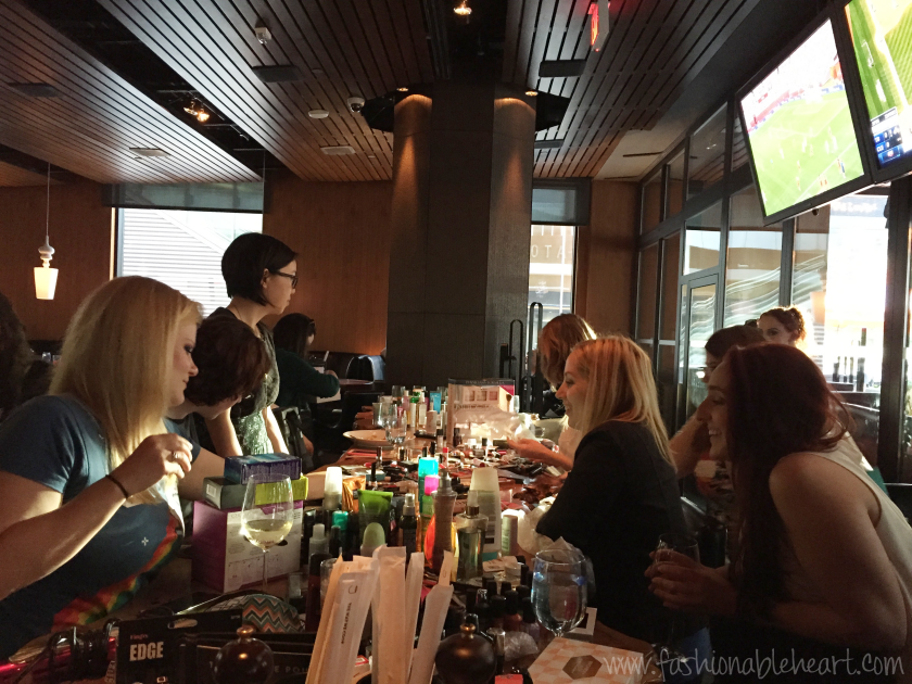cbb canadian beauty bloggers toronto dinner makeup bbloggers bbloggersca