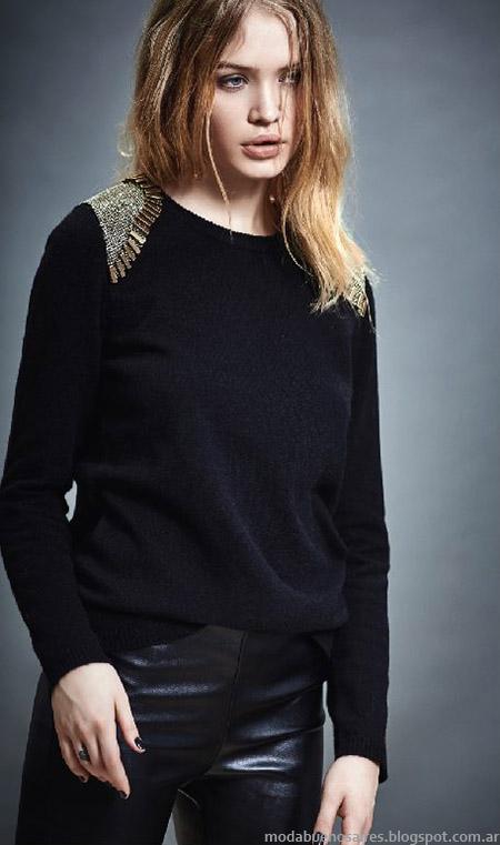 Moda invierno 2015 Akiabara. Ropa de mujer moda otoño invierno 2015 sweaters.