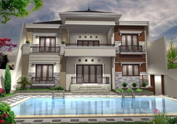 desain rumah mewah luxurious