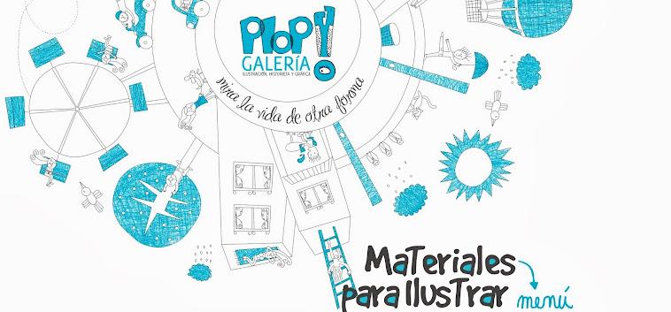 Materiales de arte para ilustrar PLOP! Galería
