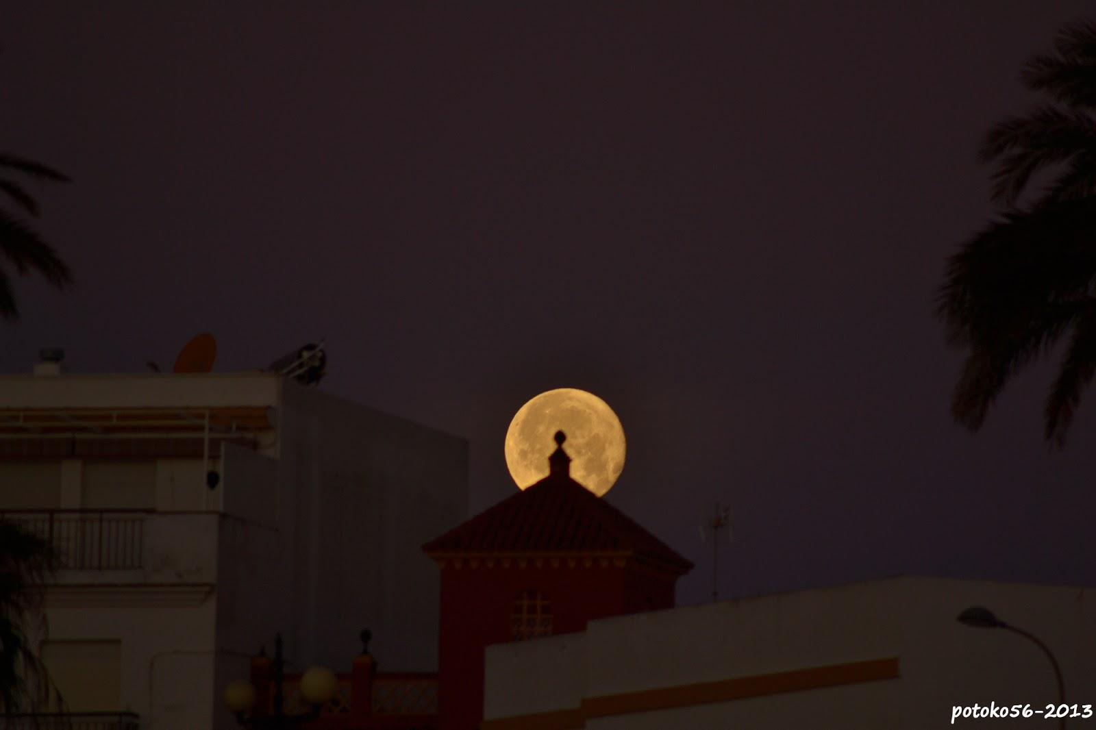 Luna Llena desde el Chorrillo