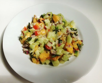 Indonesian Cucumber And Mango Salad
