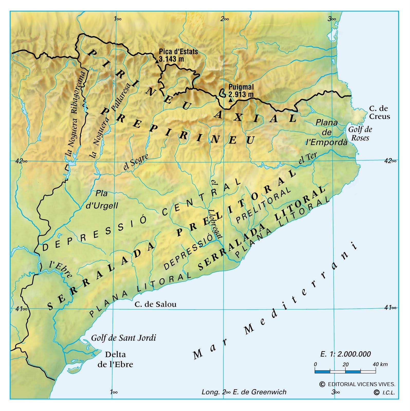 Resultat d'imatges de imatge relleu catala
