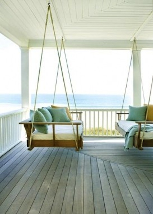 Playful Prep Porch Swings