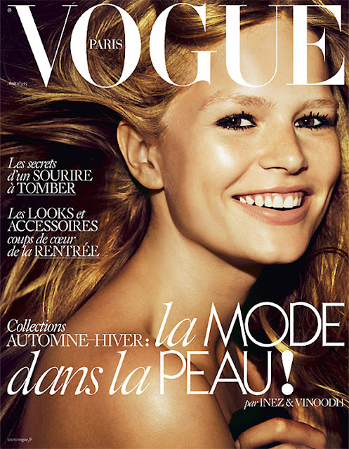 Fashion Model @ Anna Ewers by Inez & Vinoodh for Vogue Paris, August 2015