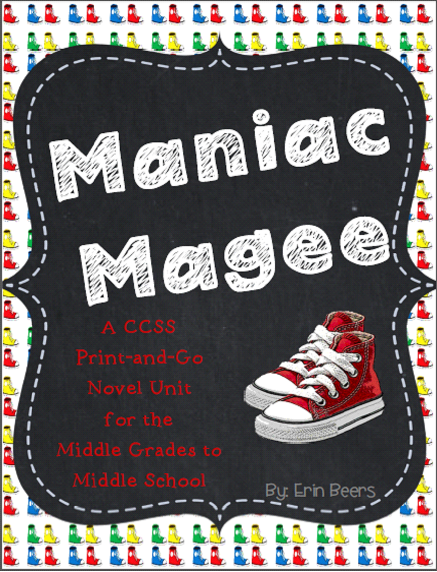 http://www.teacherspayteachers.com/Product/Maniac-Magee-CCSS-Novel-Unit-for-Middle-Grades-to-Middle-School-1162023