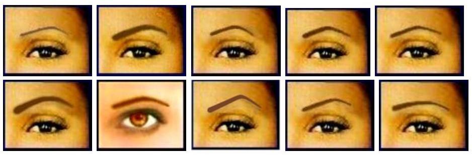 Eyebrow shape leeds
