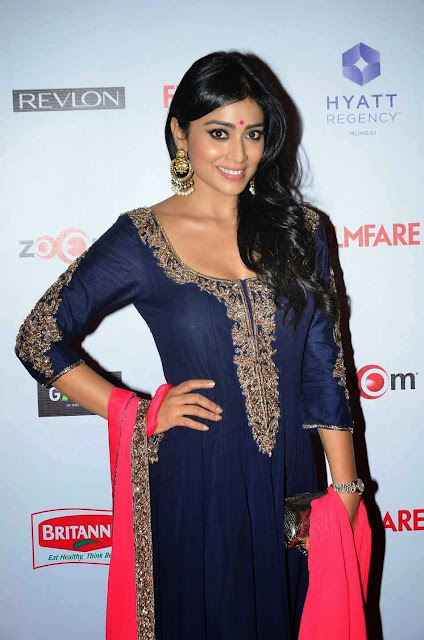 Shriya Saran Stills at 60th Filmfare Awards 2015 Pictures 8.jpg