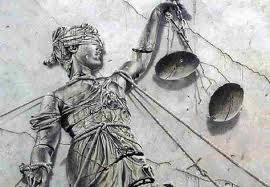 justice, blind, scales, judge, woman, stone, carving