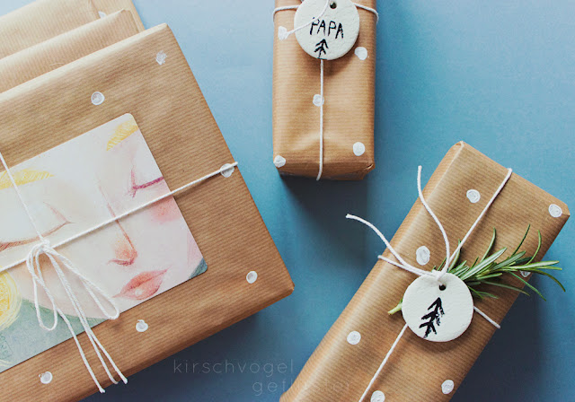 present diy wrapping decoration soda dough creative intro