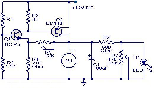 12 Volt DC Fan Temperature Control