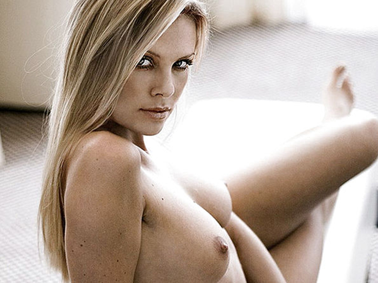 Nude pics charlize theron photos