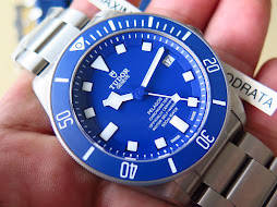 TUDOR PELAGOS BLUE DIAL AND BLUE BEZEL 42MM - TITANIUM CASE AND BRACELET - AUTOMATIC CAL MT5612