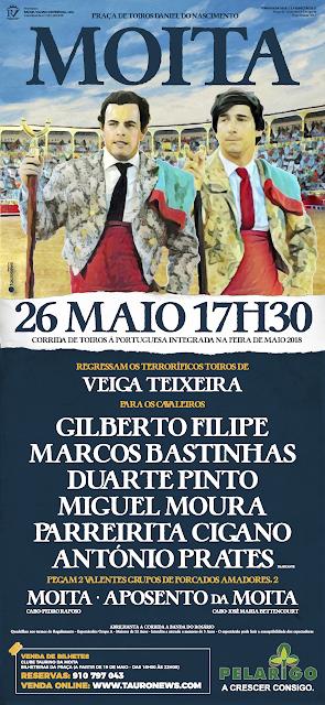 MOITA (PORTUGAL) 26-05-2016 CORRIDA A PORTUGUESA.