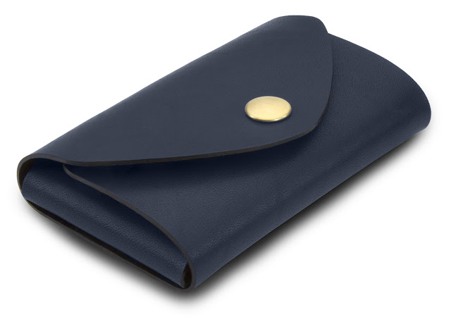 Bison Made Snap Pouch Navy